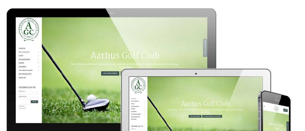 Aarhus Golf Club - Kodet af vores PHP programmør